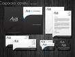 Design a logo and stationery (business card, letterhead and compliment slip) in