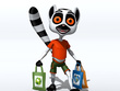 Create 3D cartoon character model from sketch