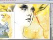 Draw a awesome digital fashion illustration