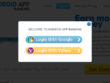Integrate social media login into your website and update status on ony 'web action'