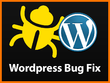 Fix a Wordpress bug, Error or Hack