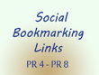 Manuallly submit and give you 20 high quality social bookmarking links,PR 4 to PR 8