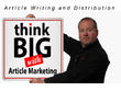 Create a 400-500 words SEO article and submit it to 3 article marketing platforms