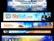 Design an attractive and professional website banner or header