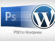 Convert your PSD to a Wordpress website / Or HTML website