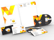 Design exceptional stationary pack biz card, letterhead, envelope, A4 folder, favicon