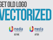 Vectorise your logo or image so it is print ready