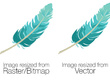 Convert your logo to a high resolution vector