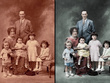 Restore old damaged photograph