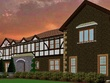 Create sketchup exterior model of two story house/building
