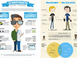 Professionally represent your data infographically