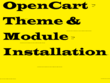Install any opencart theme with landing page like demo