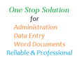 Deliver 2 hrs of Admin/VA/Document Formatting/Word/PPT at 60 wpm