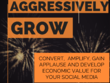 Aggressively grow, market & manage your Social Media for 1 month