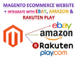 Integrate ebay, amazon with Magento - build a Responsive Magento Ecommerce Website