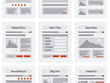Develop a wireframes for your website