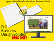 Design Pro Logo + Website + Business Card + Letterhead
