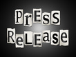 Write you a Professional News Release