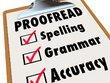 Proofread and edit up to 4,000 words