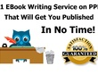 Ghostwrite a 10 Page eBook on Any Topic Including  5 Free Images