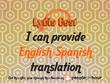 Provide English->Spanish translation (1,000 words)