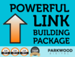 Deliver you an SEO link-building package