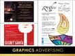 Design your advert; poster; flyer or leaflet