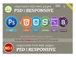 Psd to responsive HTML5 +CSS3 Incl. Js|From No.1 programmer in PPH|