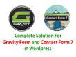 Design functional form by Gravity form or Contact Form 7