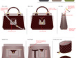 Design a Bag with inner functionalities