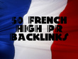 Provide 50 French Quality High PR France TOP web directory submissions