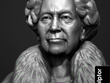 Professionally sculpt a portrait from photographs for 3d printing.