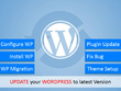 Wordpress Theme installation and setup.