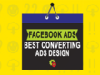Design proven high CTR banner template for FB News Ads or Right side