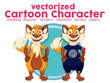 Design Cartoon Character/Mascot Designs
