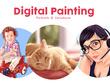 Create 1 digital painting of any kind