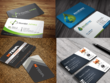 4 Business Card Designs in 6 to 12 hours