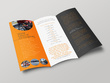 Design your 8 pages brochure / magazine - A3, A4 or A5 sizes