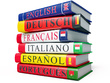 Translate 500 words from English, French and Spanish into Portuguese