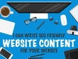 Write 3,000 word SEO friendly website content for your website