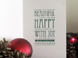 Design one Festive Greeting E-Card