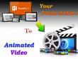 Convert your Powerpoint to Nice animated video ( up to 10 minute )