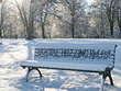 Add your logo, name or message to 2 snow themed photos.