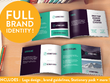 Build your whole brand identity! Logo, brand guidelines, Stationery, flyer + more