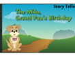 Create a digital cartoon Comic / Story book: Story teller