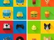 Create flat icon sets