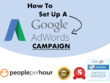 Set up an agency standard Google Adwords PPC campaign to help you drive results.