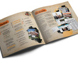 Design a 4-page A4 brochure