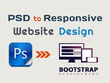 Convert Your PSD to a Responsive HTML5,CSS3 Bootstrap Website