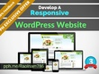 Design & Develop you Responsive & SEO friendly WordPress website/Blog